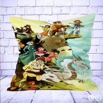 Studio Ghibli Characters Pillow Cases