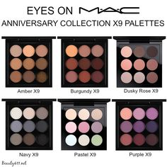 MAC 'Eyes on MAC' Anniversary X9 Palettes