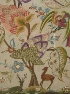 Crewelwork picture