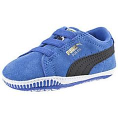 Puma Suede Crib Trainers #shoes #offduty #covetme #puma