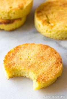 Fluffy Low Carb Magic Mug Bread Recipe - Paleo, Ketogenic, Grain Free, Gluten Free, Sugar Free, Dairy Free!