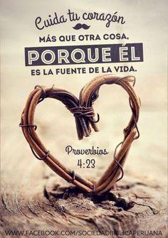 REDE MISSIONÁRIA: CUIDA DE TU CORAZÓN (PROVERBIOS 4:23)
