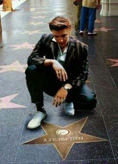 Elvis and his star