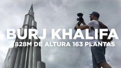 https://youtu.be/dELW8woqXHQ  En el video de hoy visitamos el rascacielos más alto del mundo que se encuentra en Dubai, Burj Khalifa, tiene 282 metros de alt