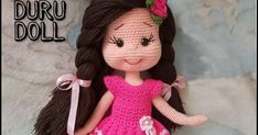 Pattern : @zumragurumi  English Translation : @samyelidesign   MATERİALS :  Yarns: Nako pırlanta (skin color:3148)  Alize Diva ... Doll Patterns Free, Crochet Dolls Free Patterns, Crochet Square Patterns, Crochet Motif, Knitting Dolls Clothes, Crochet Doll Clothes, Knitted Dolls, Doll Amigurumi Free Pattern, Crochet Unicorn Pattern