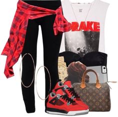 This Edgy look is super cute and casual!!