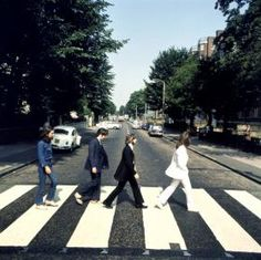"""""""'We're meant to be recording, not posing for Beatle pictures' - that's what we were thinking."""" - John shot the cover for Abbey Road. Photos © Apple Corps Ltd Abbey Road, Ray Charles, Beatles Album Covers, Mountain Music, Wattpad, Twist And Shout, Great Albums, Aesthetic Images, Mountain Landscape"""