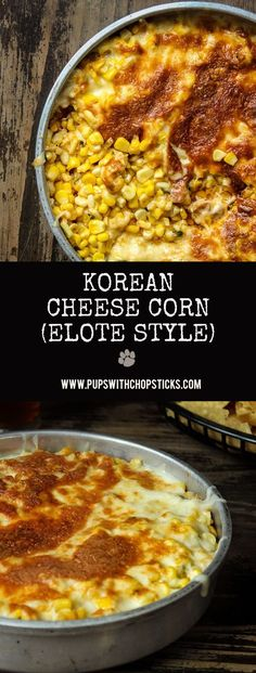 A popular Korean corn cheese snack that's cheesy, sweet & savoury combined with the flavours of Elote (Mexican Grilled Corn) spice & tang.
