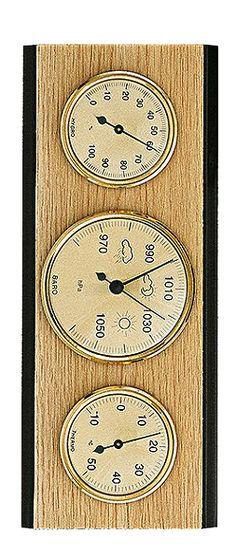 Weather Station - Timecentre Clock, Weather, Watch, Clocks, Weather Crafts