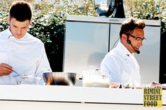 Lo chef Stefano Ciotti a #blogfest13 #chef #food #showcooking