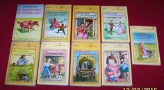 Laura Ingalls Wilder 9 Little House Yellow Chapter Books Age 7-12