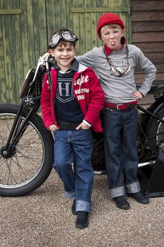 Classic Bike - Hackett Designer Kids' Clothing Autumn/Winter 2010~Image © Hackett London