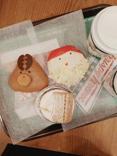 #krespykreme #christmas #donut #santa #rudolph