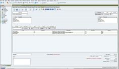 Invoice management feature of BzComposer ERP program