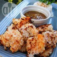 Foto de la receta: Camarones al coco fáciles