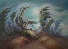 "Ukrainian artist. Oleg Shuplyak - Roars and moans wide Dnipro / Олег Шупляк - ""Реве та стогне Дніпр широкий!"""