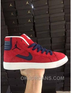 a79c04e9ca1f NIKE AIR JORDAN SKY HIGH OG RED WOMEN MEN PIG LEATHER Discount