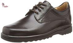 Ganter  ERIC, Weite I, Derbies à lacets garçon - Marron - Braun (espresso 2000), Taille 38 EU - Chaussures ganter (*Partner-Link)