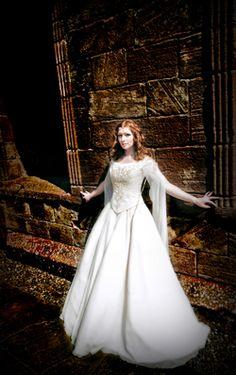 "Lindsay Fleming Couture Celtic Wedding Dress ""Orlaith"""