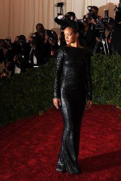 Costume Institute Gala  Rihanna in Tom Ford.