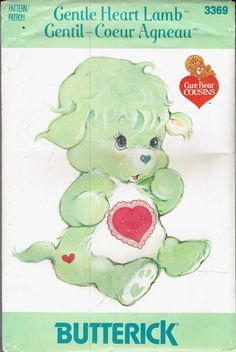 UNCUT Gentle Heart Lamb Butterick Crafts by BusyBeaverBoutique