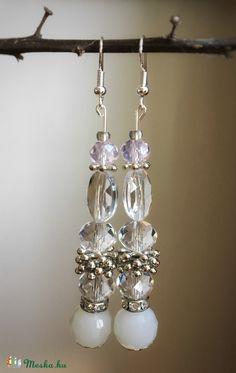 """""""Hideg tél"""" fülbevaló, Ékszer, óra, Fülbevaló, Ékszerkészítés, Meska Drop Earrings, Jewelry, Jewlery, Bijoux, Schmuck, Drop Earring, Jewerly, Jewels, Jewelery"""