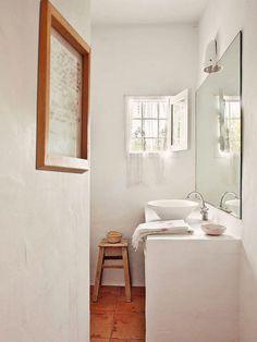 Rusztikus fürdőszoba