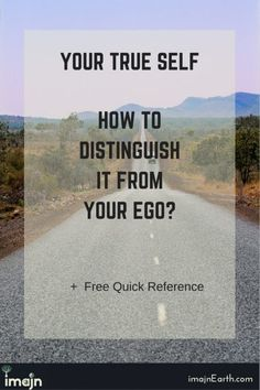 Your True Self | How to Distinguish it from Your Ego?, others' perceptions, personas, self care, wild heart, wild and free, break free, inner self,