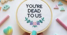 20 Hilarious Cross-Stitches That Will Speak To Your Soul