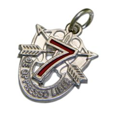 special forces jewelry | 7TH GROUP SPECIAL FORCES CREST