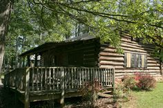 Historic Milton Log Cabin in Alpharetta, Georgia: Professor Pearce L. Elkins was awarded a $75 prize for his forestry presentation and proposed building a log cabin with the money. Built during the 1934-35 school year by the Future Farmers of America (FFA) students...