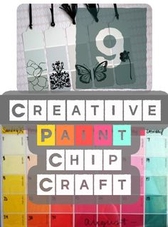 9 Creative Paint Chip Craft Projects