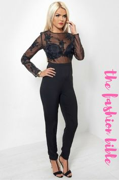 5faa8ada943 Hotel California Lace Jumpsuit - The Fashion Bible from The Fashion Bible UK