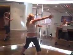 Tracy Anderson Arms for Gwyneth: feels like doing cheerleading arm exercises...