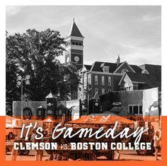 Get up Tigers! It's Gameday! Beat BC 🏈 #allin #solidorange #beatBC #clemsonfootball #homecoming Clemson Football, It Game, Boston College, Tigers, Homecoming, Beats, Big Cats