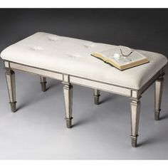 Butler Specialty Co Cheshire Mirrored Bench