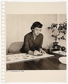 Portrait : Florence Knoll 1956 - Ordinary person. Extraordinary person / #Knoll #AmericanDesign #FlorenceKnoll / Selected by www.20emesiecle.be