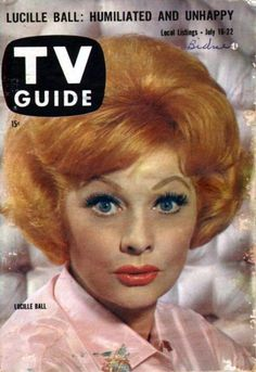 Lucille Ball - TV Guide Magazine [United States] (16 July 1960)