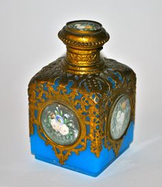 French Vintage Perfume Chatalaines | Perfume Bottles Glass Decorative Arts Antiques
