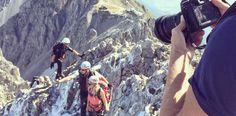 Hinter den Kulissen: Recherche am Klettersteig Innsbruck, Austria, Mount Everest, Germany, Mountains, Nature, Blog, Travel, Backdrops