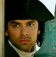 Aidan Turner as Ross Poldark in the British TV series Poldark.