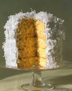 Coconut Layer Cake Recipe