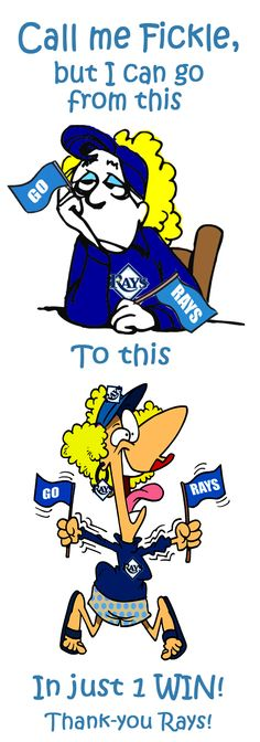 Tampa Bay Rays break their losing streak tonight defeating the Angels 7-1. GO RAYS!