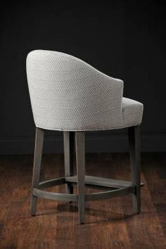 Wendy Upholstered Counter Stool - Mecox Gardens