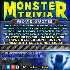#Monster #Trivia #CONTEST: Name The Movie! #HauntedHouse #MonsterTrivia for September 17th #PRIZE: 2 #FREE Tickets to the #Haunted #Elementary for Opening Night  Here's how to win: 1.) #LIKE & #SHARE this post 2.) Comment with the correct answer & #TAG the person that you'd bring if you won.  You need to do these 2 things to be eligible. One #winner will be randomly selected this #Tomorrow! This contest is in no way sponsored endorsed or administered by or associated with Facebook or…