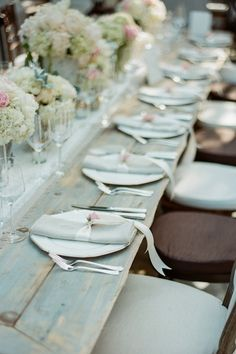 A beautifully styled table.
