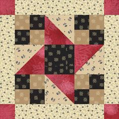 Framed Friendship Stars Quilt Pattern