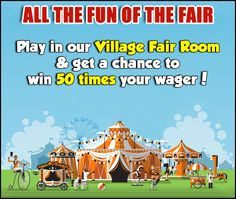 Join the fun at our Village Fair this month and win 50 times your wagering amount! We know how much you love this exciting 80-ball room, so hop in and catch up on all the action now!  Check for more games here https://www.gamevillage.com  For Bonus & Withdrawal Rules visit https://www.gamevillage.com/terms-and-conditions