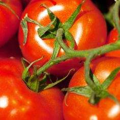 Tomato: Tomatoes are rich in carotenoids, such as lycopene which gives lends a bright red color. Lycopene is an angiogenesis inhibitor which suppresses signaling by PDGF and Platelet Activation Factor. In animal studies, lycopene suppresses cancers of the breast, liver, colon, prostate, as well as suppresses metastases. - See more at: http://www.eattobeat.org/food/1309/tomato.html#sthash.9UX2wubB.dpuf