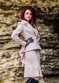 Dalia 2 suit-dressjacket by LauraGalic on Etsy